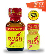 Rush Leather Solvent Cleaners 30ml & 10ml-2Pack