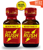 Super Rush Leather Solvent Cleaners 30ml-2Pack
