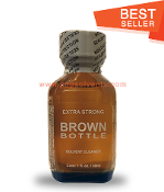 Brown Bottle Leather Solvent Cleaner 30ml